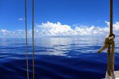 Flat seas...like amirror